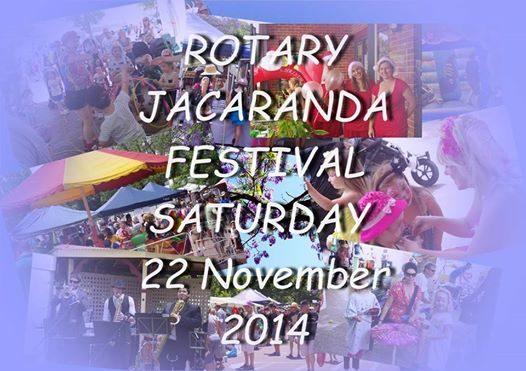 ROTARY JACARANDA FESTIVAL 2014